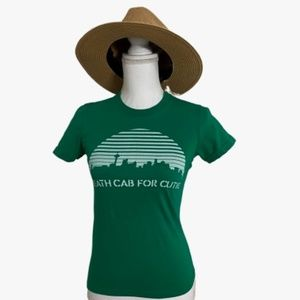 American Apparel Death Cab For Cutie Concert Tee S